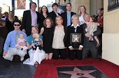 Glenn Close and family  at the Walk of Fame Ceremony Honoring Glenn Close. Hollywood Boulevard, Hollywood, CA. 01-12-09
