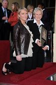 Annie Starke and Glenn Close  at the Walk of Fame Ceremony Honoring Glenn Close. Hollywood Boulevard, Hollywood, CA. 01-12-09