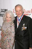 Buzz Aldrin and wife Lois at the 6th Annual 'Living Legends of Aviation' Awards Ceremony. The Beverly Hilton Hotel, Beverly Hills, CA. 01-22-09