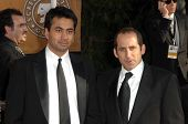 Kal Penn and Peter Jacobson at the 15th Annual Screen Actors Guild Awards. Shrine Auditorium, Los Angeles, CA. 01-25-09