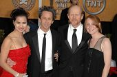 Brian Grazer with Ron Howard and Cheryl Howard at the 15th Annual Screen Actors Guild Awards. Shrine Auditorium, Los Angeles, CA. 01-25-09