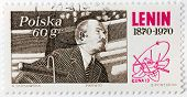 Lenin Stamp