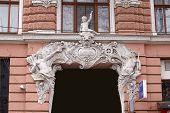 Art Noveau Balcony In Odessa