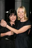 Selma Blair and Jaime King at the Los Angeles Special Screening of 'Fanboys'. Clarity Screening Room