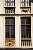 Decorative frontage around windows