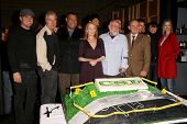 Cast of 'CSI Crime Scene Investigation' at the CSI Crime Scene Investigation 200th Episode Celebrati