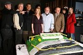 Cast of 'CSI Crime Scene Investigation' at the CSI Crime Scene Investigation 200th Episode Celebration. Universal Studios, Universal City, CA. 02-10-09