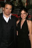 Damian Chapa and Leah Grimsson at the Charity Screening of 'Polanski Unauthorized' to Benefit the Children's Defense League. Laemmle Sunset 5 Cinemas, West Hollywood, CA. 02-10-09