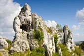 Jurassic Limestone Rocks - Polish Jura, Poland