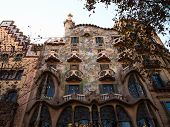 Casa Batlló in Barcelona, Spain
