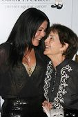 Maria Conchita Alonso and her mother  at the 8th Annual Padres Contra El Cancer's 'El Sueno De Esper