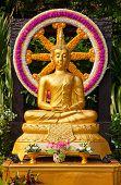 Famous Wat Saket (Golden Mount) temple in Bangkok, Thailand