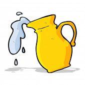 cartoon water jug