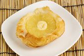 Danish Pastry With Pineapple