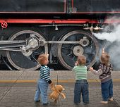 Boys And Locomotive