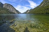 King's Lake (koenigssee) In Summer
