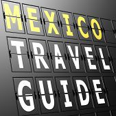 Airport Display Mexico Travel Guide
