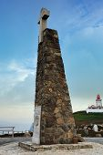 Monument At  Cabo Da Roca, Portugal