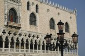 Venice, Piazza San Marco, The Doge's Palace Detail