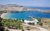 Mediterranean Landscape, Rhodes, Greece