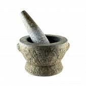 Rock Mortar And Rock Pestle