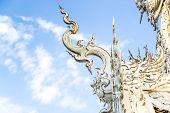 Wat Rong Khun Roof