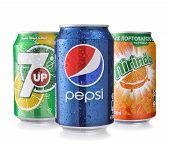 Pepsi Mirinda and 7UP