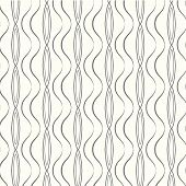 Seamless Pattern Curve Vector Background
