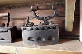 Vintage Charcoal Iron