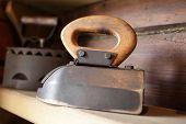 Vintage Old Flat Iron