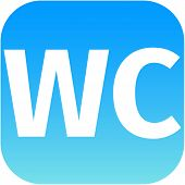 Wc Toilet Blue Icon
