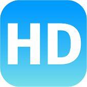 Hd - High Definition Blue Icon