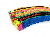 Pack Of Colorful Velcro Strips