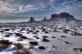 Monument Valley Winter Wonderland