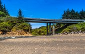 foto of klamath  - Wilson Creek beach Klamath California highway overpass - JPG