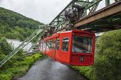 Red Wagon Of Wuppertal Suspension Railway