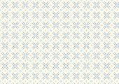 Modern Flower And Rhomboid And Circle Pattern On Pastel Background