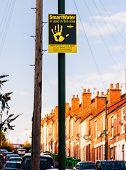 SMARTWATER Burglar deterrent signage