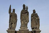 Saint Wenceslas, Saint Norbert And Saint Sigismund