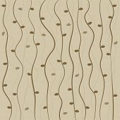 Brown twisted vine pattern background
