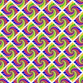 Design Seamless Multicolor Abstract Geometric Pattern