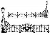 Antique Garden Fence