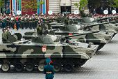 MOSCOW - 6 May 2010: BMP-3,