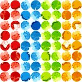Abstract colorful background template. Vector, EPS 8