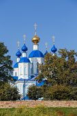 Russia. Tambov. Cathedral Of Kazan Monastery