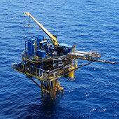 Three Legged Oil and Gas Remote Production Platform