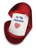 Be My Valentine - valentines day card