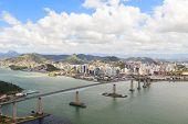 Third Bridge (terceira Ponte), View Of Vitoria, Vila Velha, Espirito Santo, Brazil