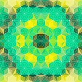 Vector Triangles mosaic Pattern