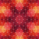 Vector Red Triangle Background